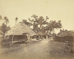 Village scene in Rural Bengal